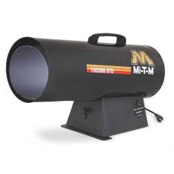 Mi-T-M 150,000 BTUs Forced Air Natural Gas Heater MH-0150-NM10