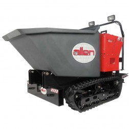 Allen 16 Cu Ft Track Power Buggy with Polly Bucket -AT16PBES
