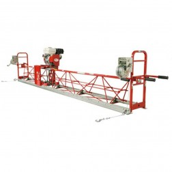 32.5Ft Air Powered Steel Truss Vibratory Screed Allen-SSA12325