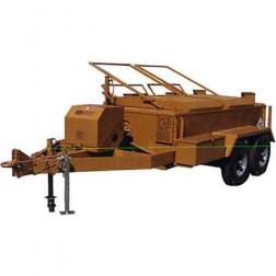 ASE 600Gal 9HP Standard Lid Asphalt Kettle Pumper