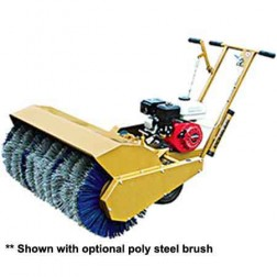 "ASE MS-36 5.5HP Poly Coil 36"" Mechanical Sweeper"