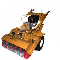ASE 13HP Hydraulic Tractor Pull Start with Poly Steel Sweeper
