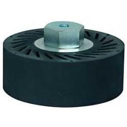 Raimondi Tools Rubber Hub Belt Cylinder for Flat Polishing BDWHUB