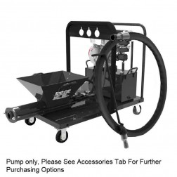 Black-Jack Gas Single Cylinder Grout Pump W/ 8 Cubic Ft. Hopper