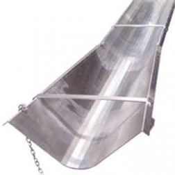 BonTool 12-813-T8 Flared End Aluminum 8ft Concrete Chute