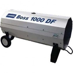 LB White Boss 1000 DF Dual-Fuel LP/NG Direct-Fired Heater 1 Million BTU