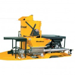 ChemGrout  CG-570/3C6/GHES Gas/Hydraulic Thick Mix Grouter w/mixer