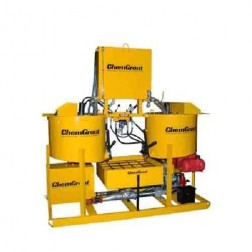 ChemGrout CG-500-031/GHES Geotech Gas/Hyd Hi-Capacity Grouter w/2- Mixers