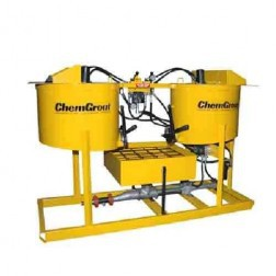 ChemGrout CG-500-031/H Geotech Hydraulic Hi-Capacity Grouter w/2- Mixers