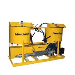 ChemGrout CG500/2C6/DHES Versatile Diesel/Hydraulic Grouter w/2-Mixers