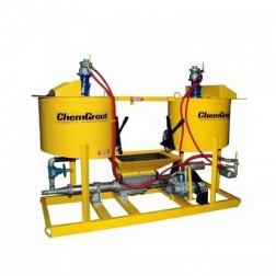 ChemGrout CG-500-2C6/H Versatile Hydraulic Grouter w/2- Mixers