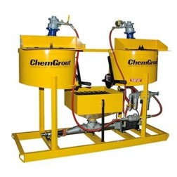ChemGrout CG-502-031/A Multi-Purpose Air-powered Grouter w/2- Mixers