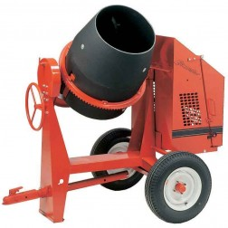 Crown 9 cu/ft C9P Poly Drum Series Concrete Mixer