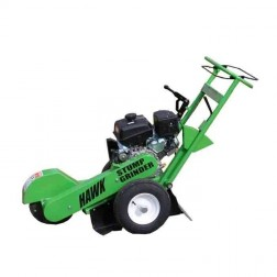 Hawk Compact stump grinder with 9.5  HP Honda pull start engine