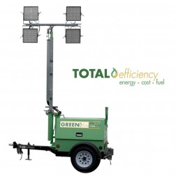 GHS Greenfire B100-6 LED Battery Indoor-Outdoor Light Tower