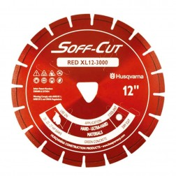 "Husqvarna 6"" 3000 Red Series Soff-Cut Saw Blade-542777007"