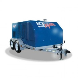 Frost Fighter Ice Fighter IDF1000 Indirect Fired Generator & Trailer Package System