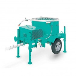 Imer Mortarman 360 Steel Drum Series Mortar Mixer