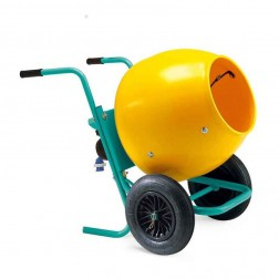 IMER Wheelman II Gas Portable Concrete Mixer