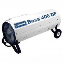 LB White Boss 400 DF Dual-Fuel LP/NG Direct-Fired Heater 400,000 BTU