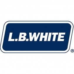 "LB White 30052 Duct, 25 ft (12""), Fire-retardant, with Clamp"