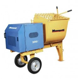 Menegotti 7/9 cu ft Mortar Mixers