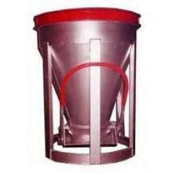 4 Yard Low Slump Aluminum Concrete Bucket BB-40-LS