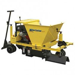 "Miller MC-550 6"" 13HP Solid Auger Commercial Concrete Curbing Machine"