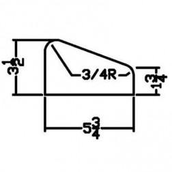Miller PFD-0001 Curb Form for MC 350 Landscape Curb Machine