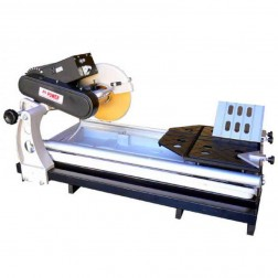 "24"" Granite and Marble Tile Saw with 10"" Blade and Water Pump-0154"