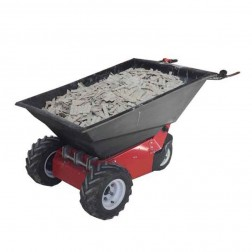 Power Pusher E-750 Electric Wheelbarrow by Nustar WITH POLY TUB INCLUDED