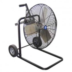 "Schaefer Ventilation 20"" OSHA Cart Fan Black 20FC-B"