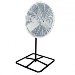 "Schaefer Ventilation 20"" OSHA Pedestal Fan White 20PF"