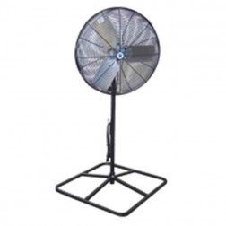 "Schaefer Ventilation 20"" OSHA Pedestal Fan Black 20PF-B"