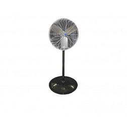 "Schaefer Ventilation 20"" OSHA Round Pedestal Fan Black 20PFR-B"