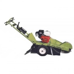 Hawk stump grinder with 13 HP Kohler pull start engine with towpack
