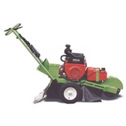 Hawk stump grinder with 20 HP Honda electric start engine with handlebar controls & towpack