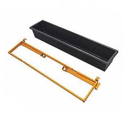 "1154 Telpro 10H725 Tool Tray, 9"" x 52"""