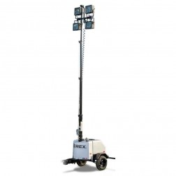 Vertical 23.5ft 6kW Light Tower by Genie Terex RL4 (Gas)