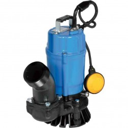Tsurumi Submersible Trash Pump with Agitator HSZ2.4S-62-110V