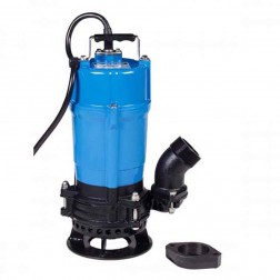 Tsurumi Submersible Trash Pump with Agitator HSD2.55S-61