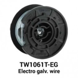 MAX USA TW1061T-EG Galvanized Steel Wire (30 Rolls)