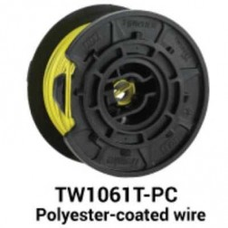 MAX USA TW1061T-PC Polyester Covered Steel Wire (30 Rolls)