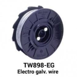 Max USA TW898-EG Electro Galvanized Wire (50 rolls)
