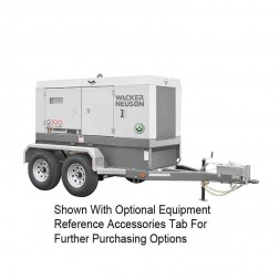 Wacker 80kW Mobile Generator G100 Cold Weather Edition T4F