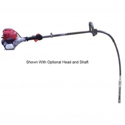 Wyco EZVIBE Hand Held Vibrator W404-000 HONDA ENGINE w/ Head and Shaft