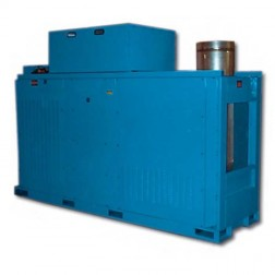 Heat Wagon IX1500 1.5 million BTU LP/NG Indirect Fired Heater By SureFlame