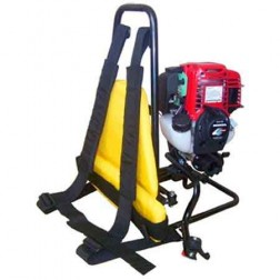 OZTEC BP-35 4-Stroke Gas Backpack Concrete Vibrator