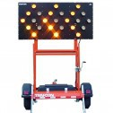 Trafcon Industries TC1 Trailer Mount Solar Powered Arrow Boards