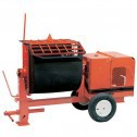 Crown 4 cu/ft 4S Poly Drum Series Mortar Mixer
